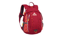 VAUDE Donald 7 Rouge/Mandarine print